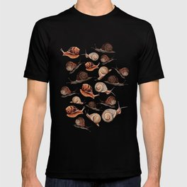 A Slew Of Snails T-shirt