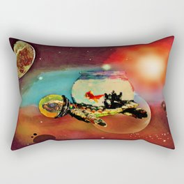 SPACE TURTLE VII - 202 Rectangular Pillow
