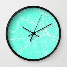 Vintage Nashville Turquois Wall Clock