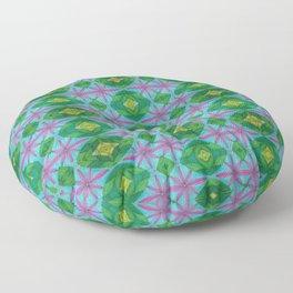 Window Panes Floor Pillow