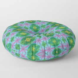 Window Panes Floor Pillow