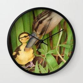 Little Lost Duckling Wall Clock