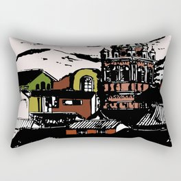 Cuzco - Peru cityview landscape Rectangular Pillow