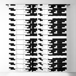 ASCII All Over 06051319 Blackout Curtain
