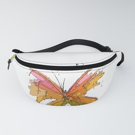 Butterfly-5 Fanny Pack