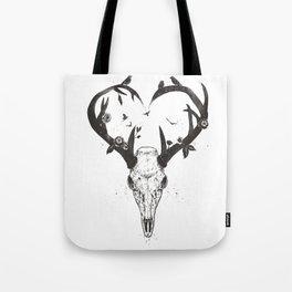 Neverending love (bw) Tote Bag