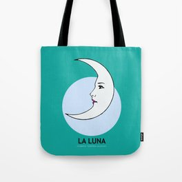 La Luna Mexican Loteria Card Tote Bag