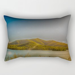 Mountain view Rectangular Pillow