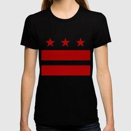 Washington DC District Of Columbia Flag T-shirt
