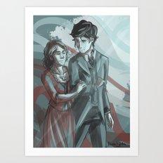 Will & Tessa Art Print