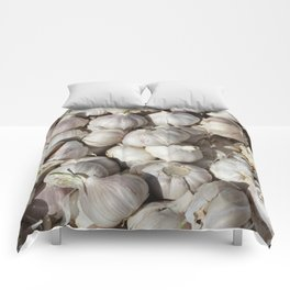 Garlic food pattern Comforters
