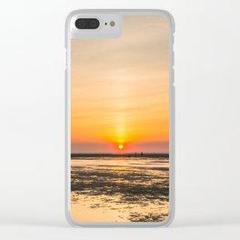 Cape Cod sunset Clear iPhone Case