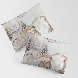 Couple of Sheep Pillow Sham