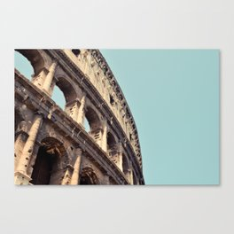 Postcards from Italy: Il Colosseo Canvas Print