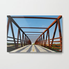 Basket Bridge Metal Print