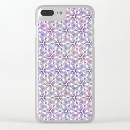 Art Nouveau Poppy Clear iPhone Case