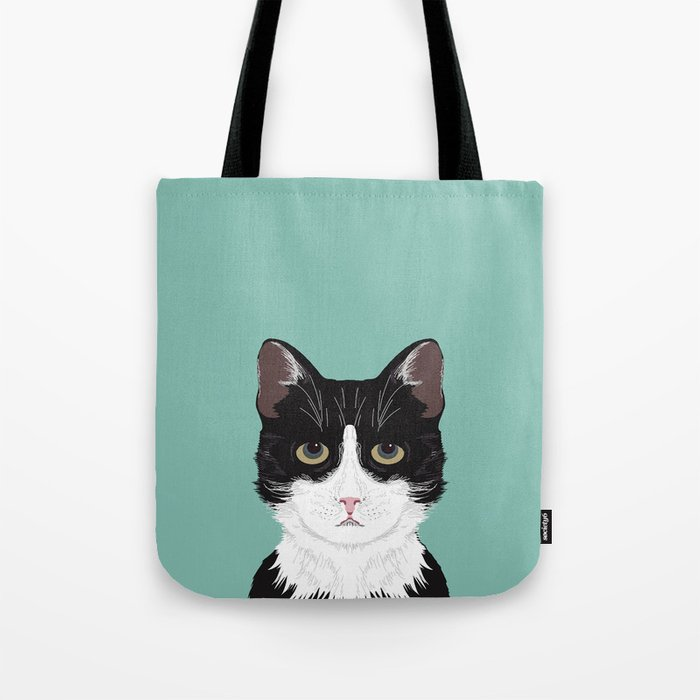 Quinn Cute Black And White Cat Tuxedo Cat Gifts For Cat Lady Gift
