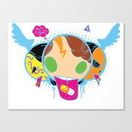 Drugeaters Canvas Print