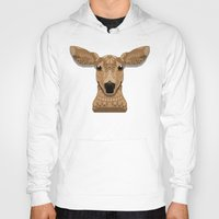 bambi Hoodies featuring Bambi by ArtLovePassion