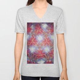 Kaleidoscope flower Unisex V-Neck