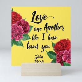 John 13:34 Mini Art Print