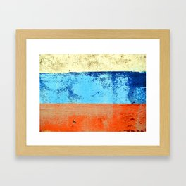 Sky Sea Beach 3 Framed Art Print