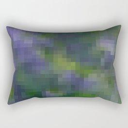 Violet , geometric , abstract Rectangular Pillow
