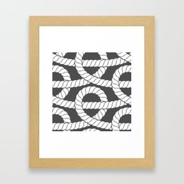 Knotty Framed Art Print