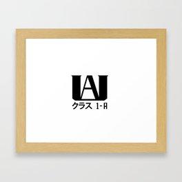 Hero Academy 1 - A v2 Framed Art Print