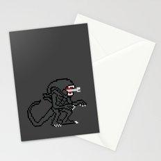 Alien Pixels Stationery Cards