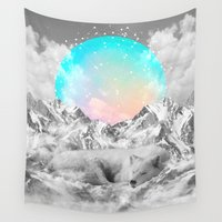 napoleon Wall Tapestries featuring Put Your Thoughts To Sleep by soaring anchor designs