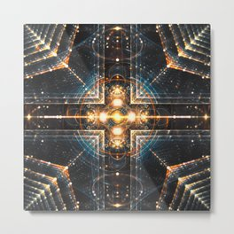 Fractality - Galactic Mantra Metal Print