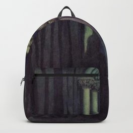 To Helen By Edmund Dulac Backpack