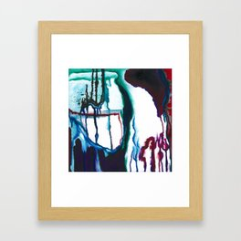 A State of Apprehension and Tension Framed Art Print