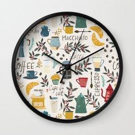 Coffee Lover Wall Clock