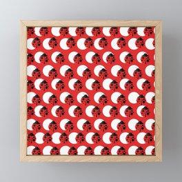 I Spot Ladybug Dots Framed Mini Art Print