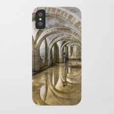 Winchester Cathedral Crypt iPhone X Slim Case