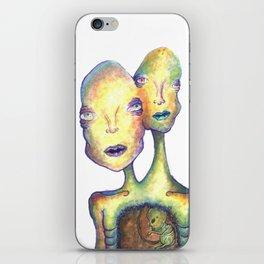 Two Headed Boy iPhone Skin