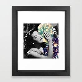 Affectionate Relationship Framed Art Print