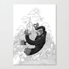 JENGGA! Canvas Print