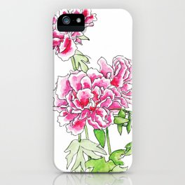 Whispered Giggles iPhone Case