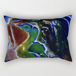 Good Luck Series: A vibrant glory Rectangular Pillow