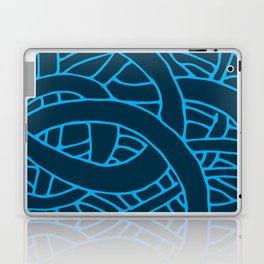 Microcosm in Blue Laptop & iPad Skin