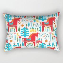 Scandinavian Inspired Fairytale - Bright Rectangular Pillow