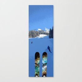 View from the lift Canvas Print