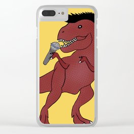 He-Rex Singer Clear iPhone Case