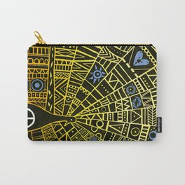 Peacocks for Peace Carry-All Pouch
