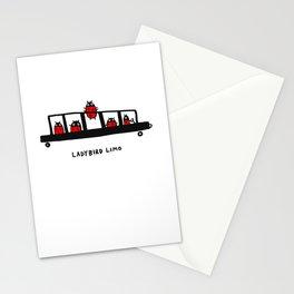 Ladybird Limo Stationery Cards