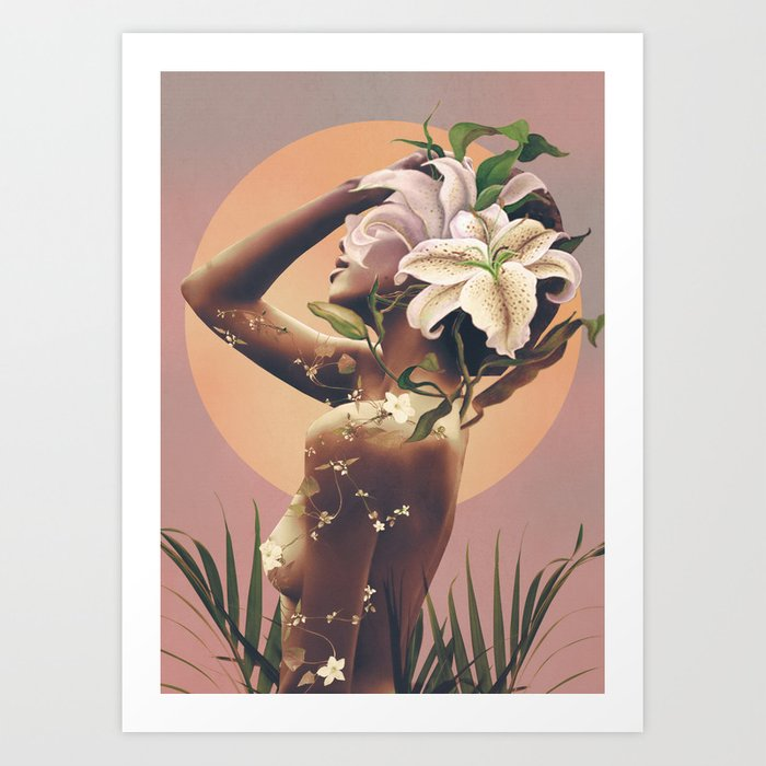 Floral beauty 3 Art Print