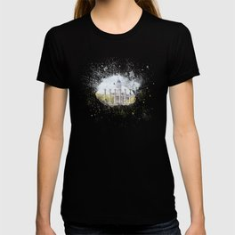 Mizzou Columns Splash T-shirt